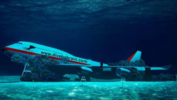 Các nước đua nhau 'đánh đắm' máy bay làm điểm du lịch lặn biển - Ảnh 3.