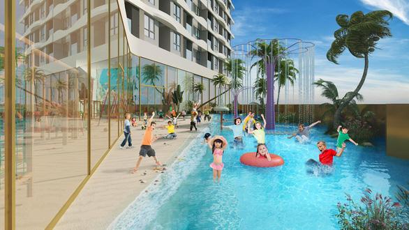 Trung tâm Chợ Lớn sắp có tổ hợp hồ bơi điện phân đồng - Ảnh 2.