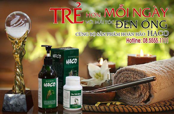 Chăm sóc tóc đen óng với sản phẩm Tóc Haco - Ảnh 1.
