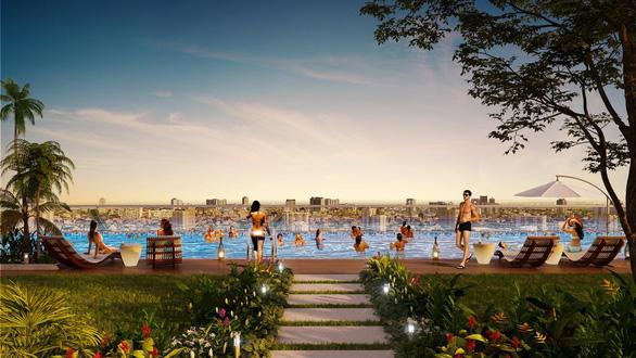 Trung tâm Chợ Lớn sắp có tổ hợp hồ bơi điện phân đồng - Ảnh 3.