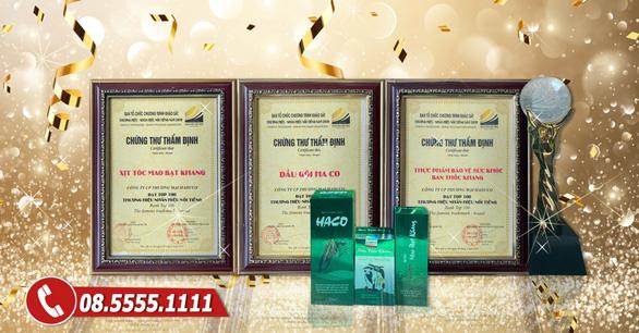Chăm sóc tóc đen óng với sản phẩm Tóc Haco - Ảnh 3.