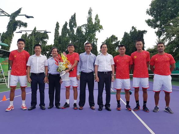 Lý Hoàng Nam quyết tâm thăng hạng Davis Cup - Ảnh 1.