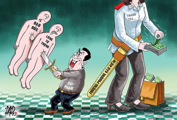 Vào thanh tra để làm giàu thì vòi vĩnh là tất yếu!