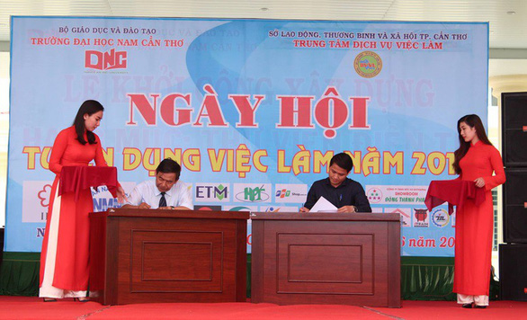 Mô hình doanh nghiệp trong trường học ở Nam Cần Thơ - Ảnh 2.
