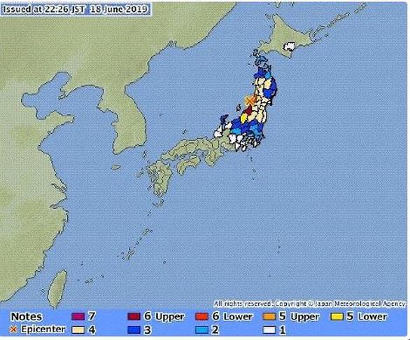 Nhật Bản cảnh báo sóng thần sau động đất mạnh 6,8 độ Richter - Ảnh 1.