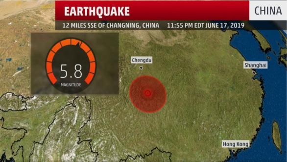 5 trận động đất liên tiếp làm rung chuyển Tứ Xuyên - Ảnh 2.