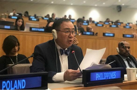 Ngoại trưởng Philippines cảm ơn Việt Nam trước Liên hiệp quốc - Ảnh 1.