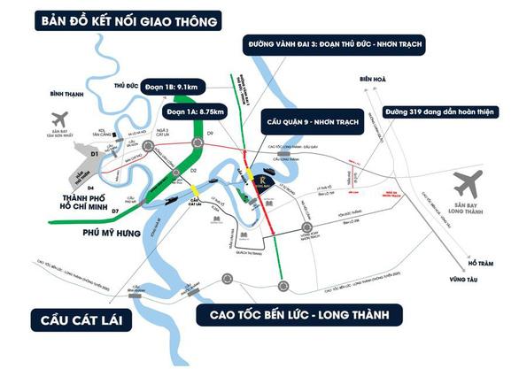 Sức hấp dẫn bất động sản cửa ngõ phía Đông Sài Gòn - Ảnh 1.