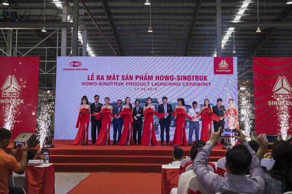 Daehan Motors ra mắt dòng sản phẩm thương hiệu Howo-Sinotruk - Ảnh 1.