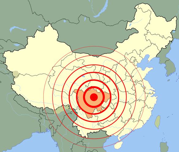 5 trận động đất liên tiếp làm rung chuyển Tứ Xuyên - Ảnh 1.