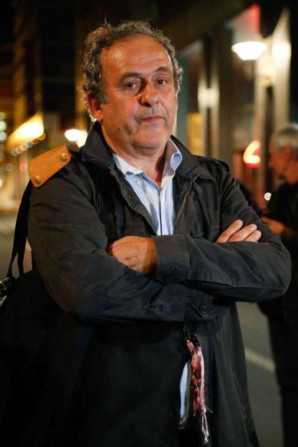 Cựu chủ tịch UEFA Platini được thả sau ít giờ bị bắt - Ảnh 1.