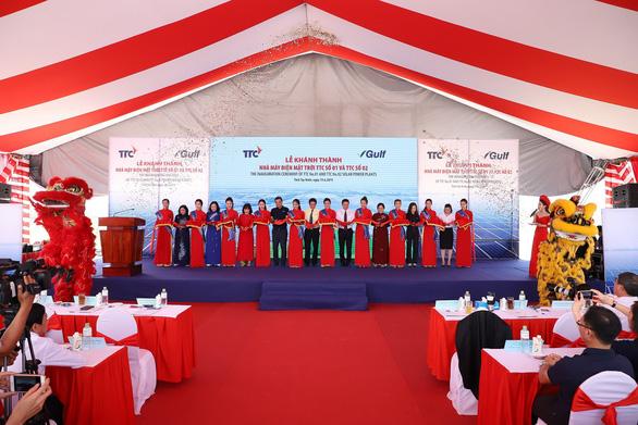 Khánh thành nhà máy điện mặt trời TTC số 01 và 02 - Ảnh 6.
