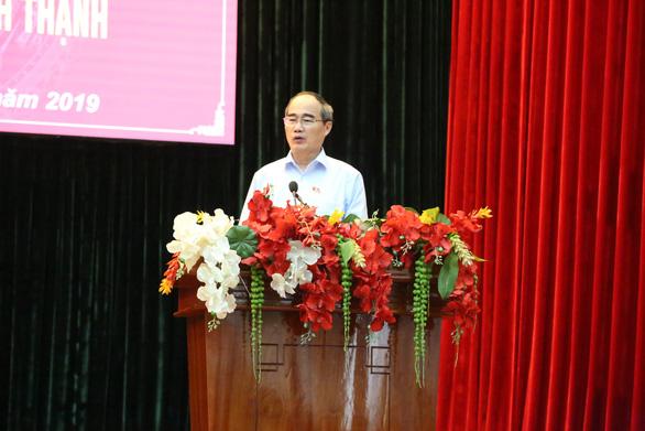 Bí thư Nguyễn Thiện Nhân: Không có chuyện dự án kém không ai chịu trách nhiệm - Ảnh 1.