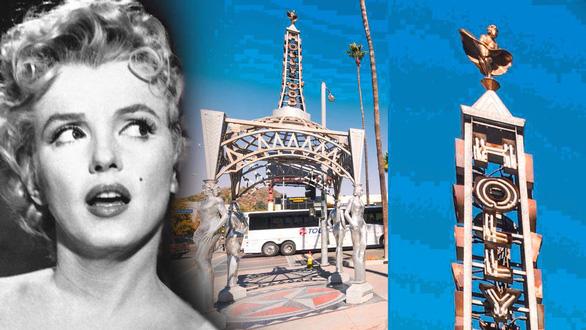 Tượng Marilyn Monroe trên Đại lộ Danh vọng Hollywood bị cưa trộm - Ảnh 1.