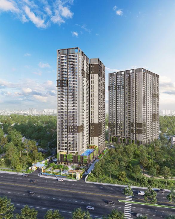Sức hút của dự án căn hộ trên đại lộ đẹp nhất Sài Gòn - Ảnh 2.