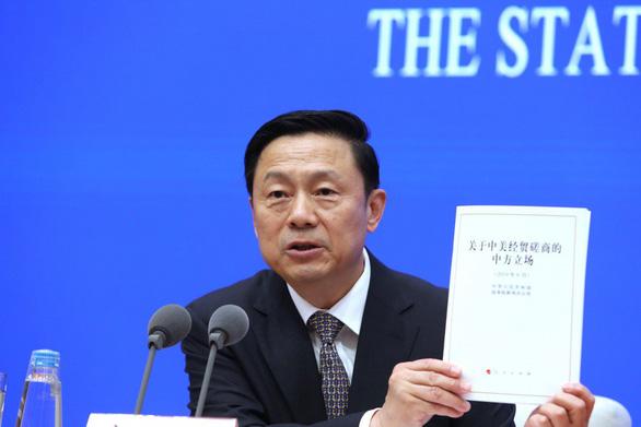 Trung Quốc công bố Sách trắng: Có thương chiến, chỉ thiệt cho Mỹ mà thôi - Ảnh 2.