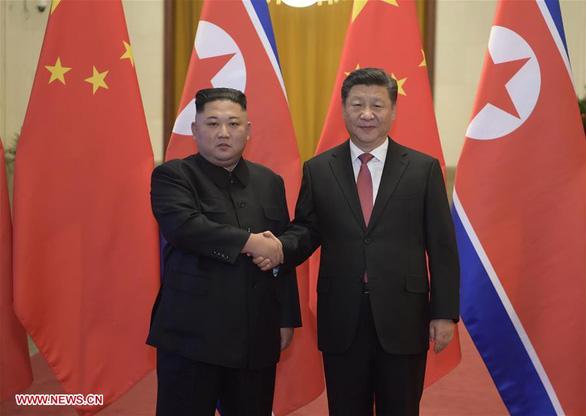 Ông Tập Cận Bình hi vọng Mỹ - Triều tiếp tục đối thoại - Ảnh 1.