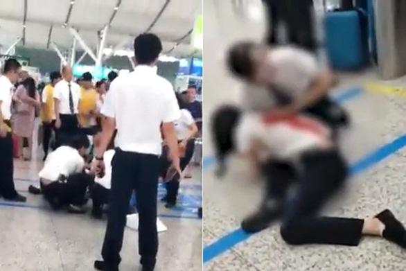 Bị lỡ tàu, khách nữ Trung Quốc đâm gục nhân viên xe lửa - Ảnh 1.