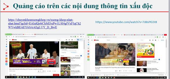 Thương hiệu Việt vi phạm pháp luật vì... YouTube - Ảnh 1.