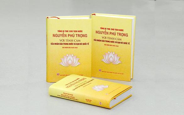Ra mắt sách về Tổng bí thư, Chủ tịch nước Nguyễn Phú Trọng - Ảnh 1.
