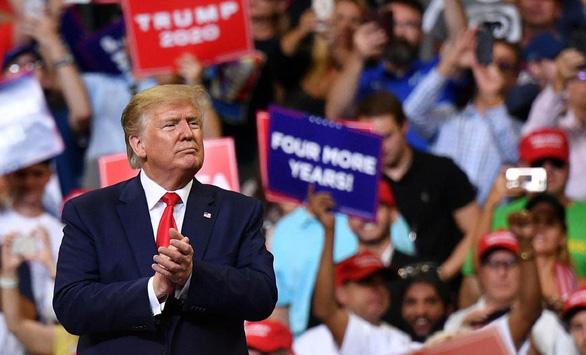 Ông Trump kêu gọi người ủng hộ giữ đội hình này thêm 4 năm nữa - Ảnh 1.