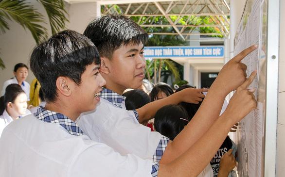 Bà Rịa - Vũng Tàu công bố điểm chuẩn vào trường THPT công lập - Ảnh 1.