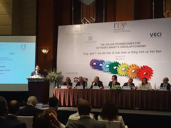 Việt Nam là đối tác ưu tiên trong kế hoạch quảng bá Made in Italy - Ảnh 1.