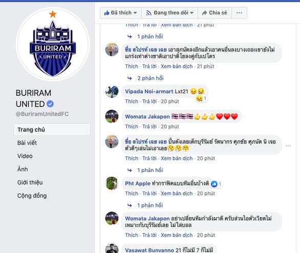 CĐV Thái Lan chia tay khi thấy Xuân Trường mất tích liên tục - Ảnh 2.