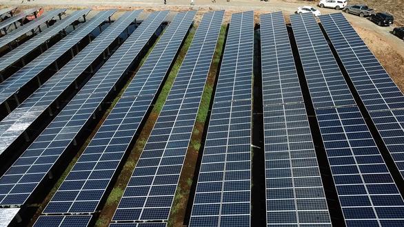 Long An: 3 trên 16 dự án điện mặt trời kịp về đích trước 30-6 - Ảnh 1.