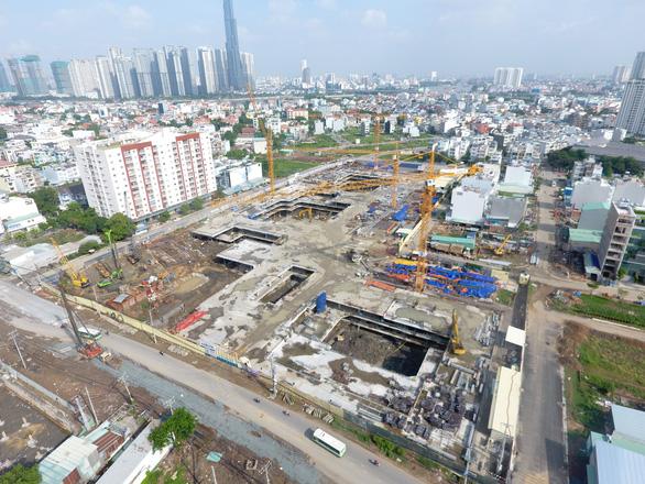 Dự án gần 1.300 căn hộ bị xử phạt do xây trái phép - Ảnh 1.