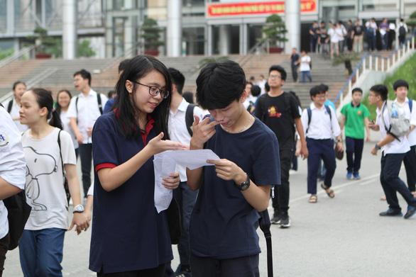 Tuyển sinh lớp 10 bổ sung ở Hà Nội: Trường Thăng Long tiếp tục tụt hạng - Ảnh 1.