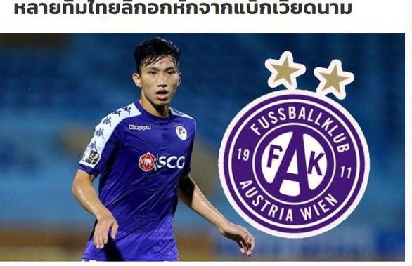Báo Thái Lan: Nhiều đội ở Thai League đau lòng vì... Đoàn Văn Hậu - Ảnh 1.