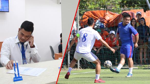 Ngôi sao bóng đá và phận đời - Kỳ 2: Bỏ bóng đá theo nghiệp văn phòng - Ảnh 1.