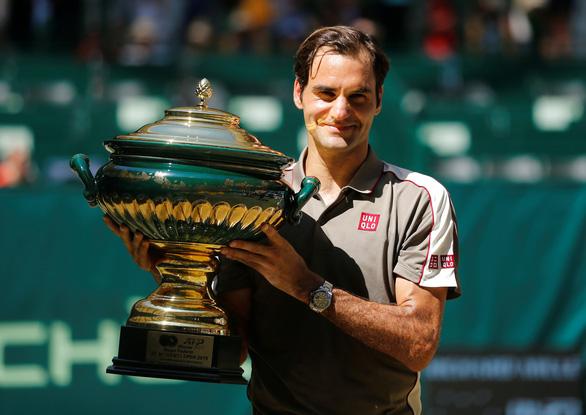 Federer lần thứ 10 vô địch Halle Open - Ảnh 1.