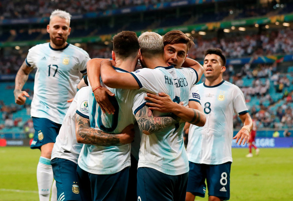 Đá bại Qatar, Argentina vào tứ kết Copa America 2019 - Ảnh 4.