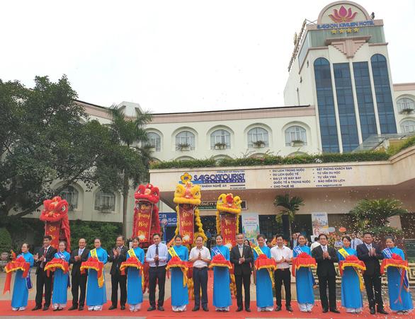 Đưa vào hoạt động chi nhánh Lữ hành Saigontourist - Nghệ An - Ảnh 1.