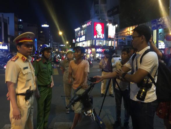 Tai nạn giao thông do ma men tăng đột biến ở Cần Giờ, Bình Thạnh - Ảnh 1.