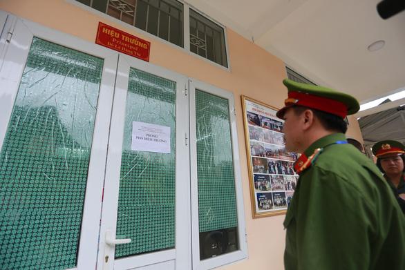 4 vòng bảo vệ, 200 cảnh sát trực chiến an ninh thi THPT quốc gia tại Hà Giang - Ảnh 1.