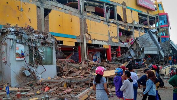 Động đất 7,5 độ Richter ở Indonesia - Ảnh 1.
