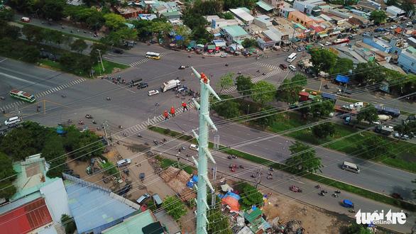 Đóng điện đường dây 220kV Nam Sài Gòn - quận 8 - Ảnh 2.