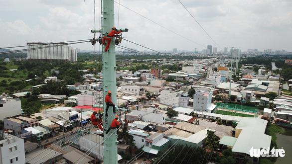 Đóng điện đường dây 220kV Nam Sài Gòn - quận 8 - Ảnh 5.