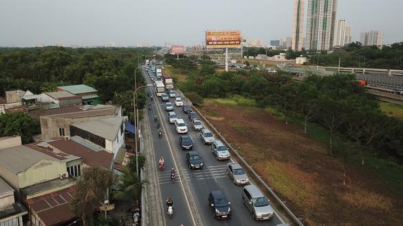 Nguy cơ kẹt xe nhiều hơn trên cao tốc TP.HCM - Long Thành - Dầu Giây - Ảnh 2.