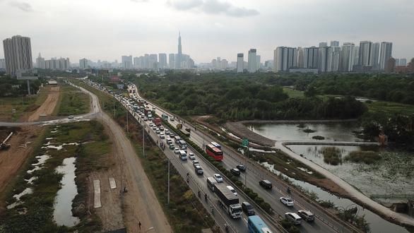 Nguy cơ kẹt xe nhiều hơn trên cao tốc TP.HCM - Long Thành - Dầu Giây - Ảnh 1.