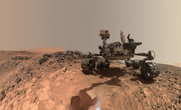 NASA phát hiện khí metan, dấu hiệu của sự sống trên sao Hỏa - Ảnh 1.