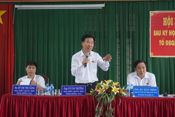 Cử tri Đồng Nai tiếp tục kêu về 2 dự án Sơn Tiên và Long Hưng - Ảnh 3.