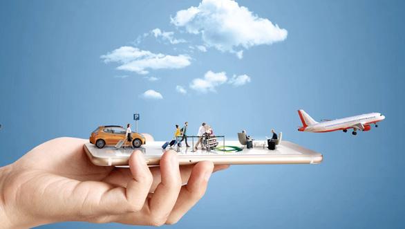Người Việt tiêu hơn 1/3 tiền trên mạng cho du lịch - Ảnh 1.