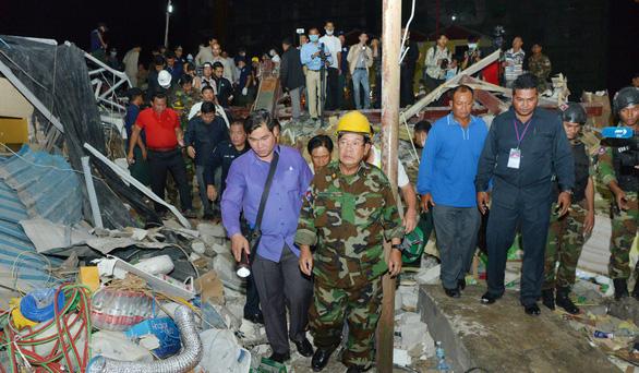 Vụ sập nhà làm 28 người chết: Campuchia buộc tội 4 người Trung Quốc - Ảnh 2.