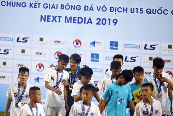 Đội bóng của Như Thuật, Văn Quyến vào chung kết U15 quốc gia 2019 - Ảnh 3.
