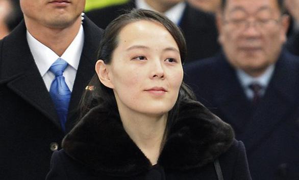 Tình báo Hàn Quốc nói em gái ông Kim Jong Un được thăng chức - Ảnh 1.