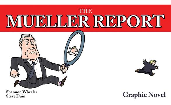 Báo cáo điều tra của ông Robert Mueller thành tiểu thuyết đồ họa - Ảnh 1.